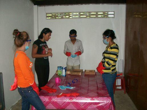 Training up the staff